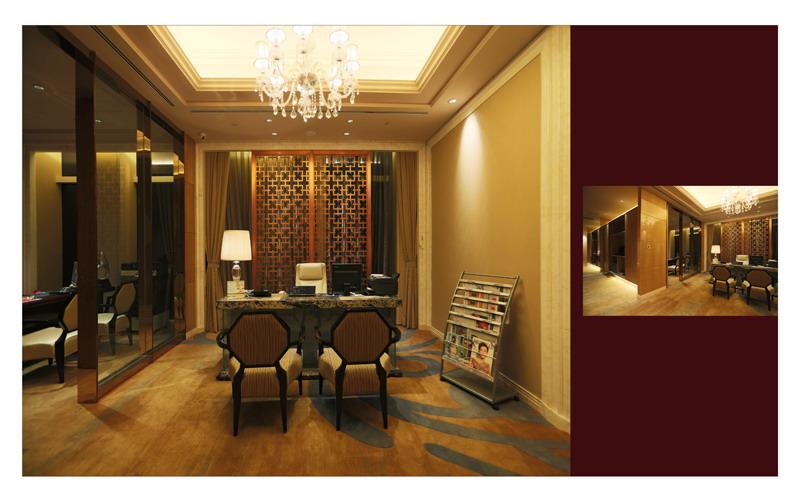 照明设计范围:酒店室内照明.图片